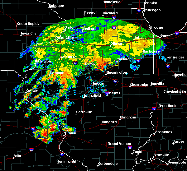 Radar Image for Severe Thunderstorms near Flanagan, IL at 7/15/2020 3:47 PM CDT