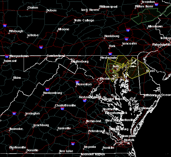 Radar Image for Severe Thunderstorms near Riva, MD at 7/1/2015 1:42 AM EDT