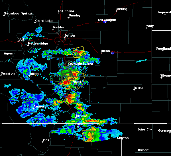 Radar Image for Severe Thunderstorms near Pueblo West, CO at 7/15/2020 4:20 PM MDT