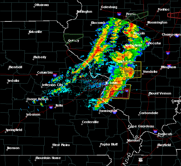 Radar Image for Severe Thunderstorms near Venedy, IL at 7/15/2020 5:25 PM CDT
