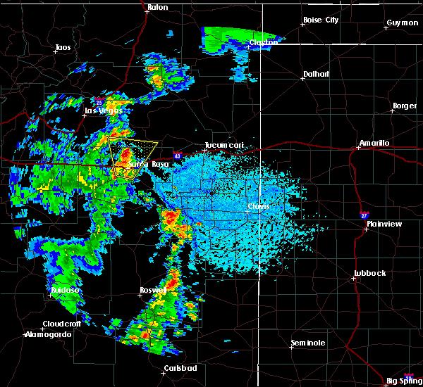 Radar Image for Severe Thunderstorms near Floyd, NM at 7/15/2020 5:20 PM MDT