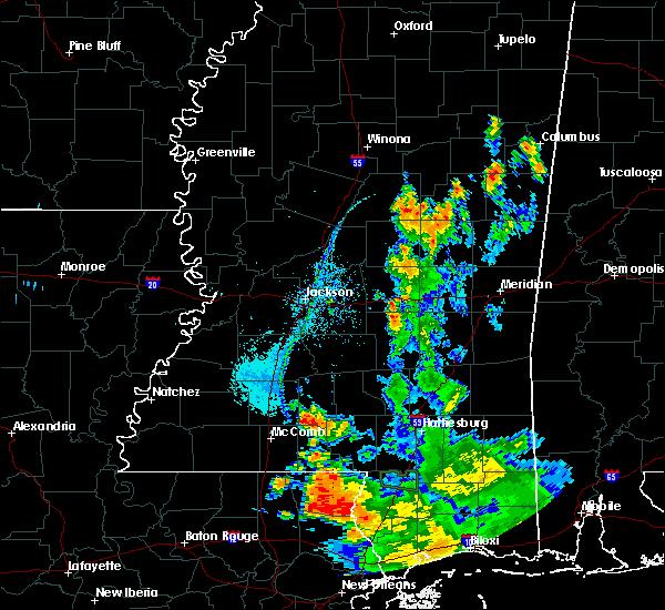 Radar Image for Severe Thunderstorms near Polkville, MS at 7/15/2020 7:06 PM CDT