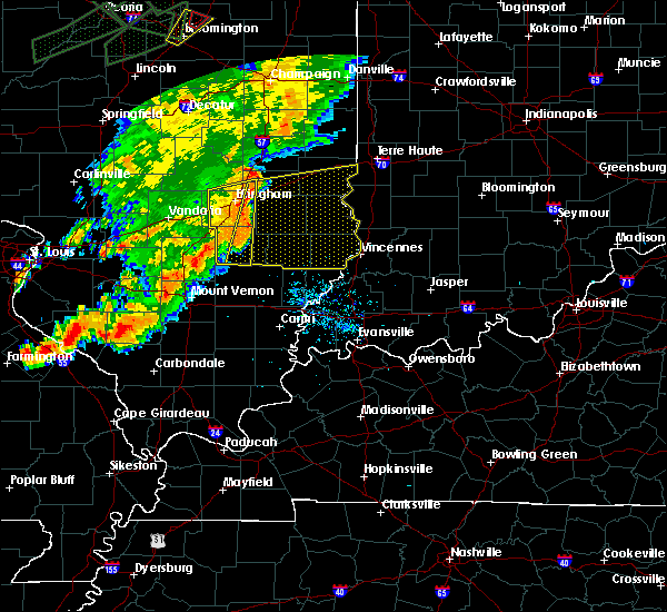Radar Image for Severe Thunderstorms near Bridgeport, IL at 7/15/2020 7:07 PM CDT