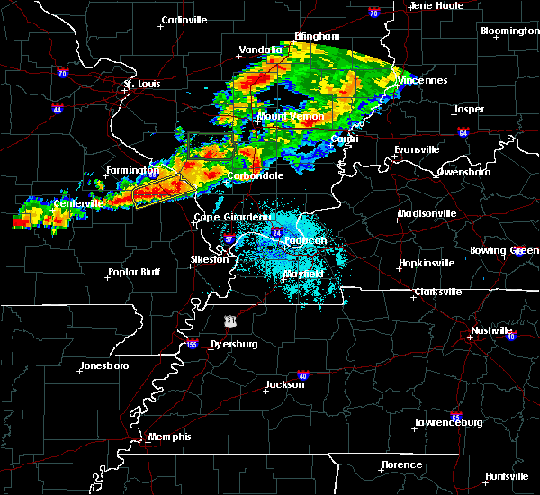 Radar Image for Severe Thunderstorms near Pocahontas, MO at 7/15/2020 8:55 PM CDT