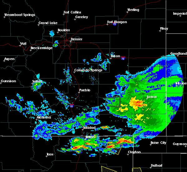 Radar Image for Severe Thunderstorms near Grenville, NM at 7/15/2020 8:03 PM MDT