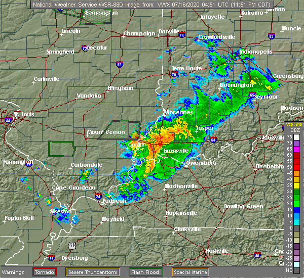 Radar Image for Severe Thunderstorms near Highland, IN at 7/15/2020 11:53 PM CDT