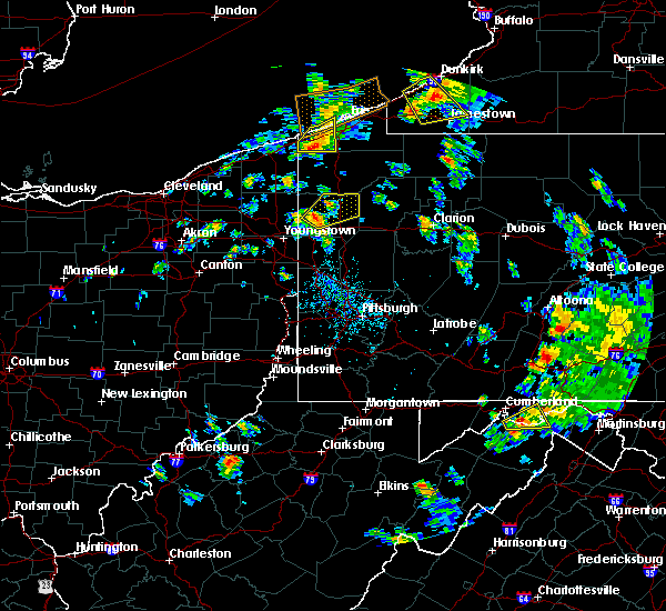 Radar Image for Severe Thunderstorms near Clark, PA at 7/16/2020 5:11 PM EDT