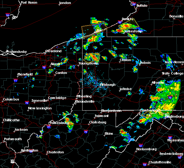 Radar Image for Severe Thunderstorms near Titusville, PA at 7/16/2020 5:31 PM EDT