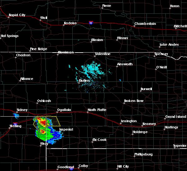 Radar Image for Severe Thunderstorms near Grant, NE at 7/16/2020 7:02 PM MDT