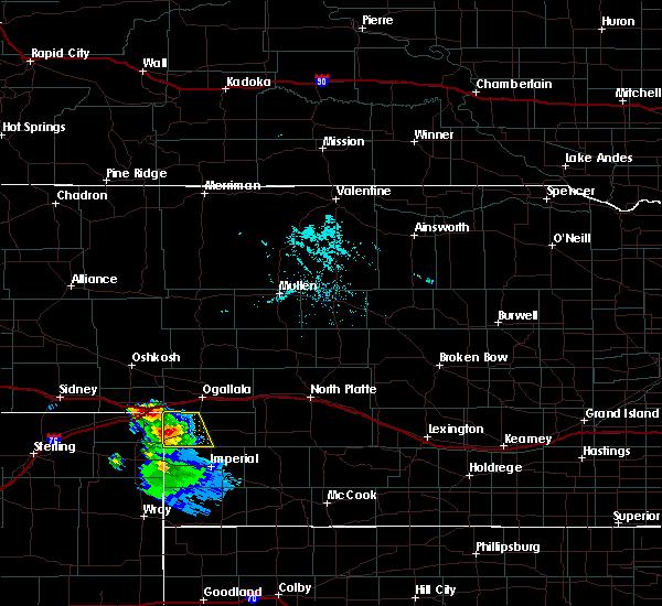 Radar Image for Severe Thunderstorms near Grant, NE at 7/16/2020 7:19 PM MDT