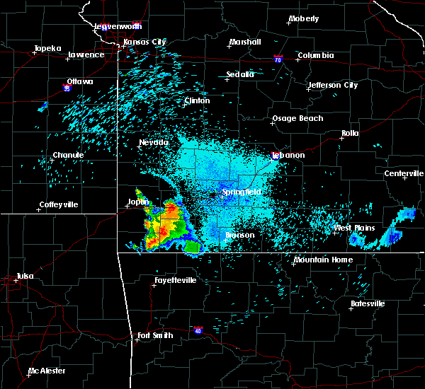 Radar Image for Severe Thunderstorms near Verona, MO at 7/16/2020 11:13 PM CDT