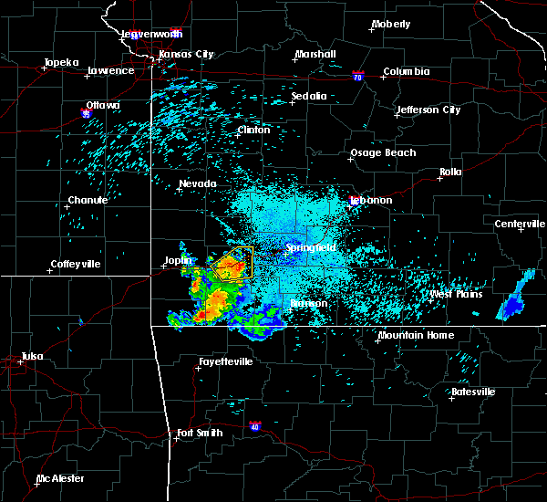 Radar Image for Severe Thunderstorms near Washburn, MO at 7/16/2020 11:39 PM CDT