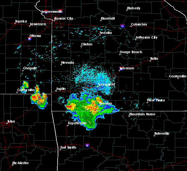 Radar Image for Severe Thunderstorms near Exeter, MO at 7/17/2020 1:30 AM CDT
