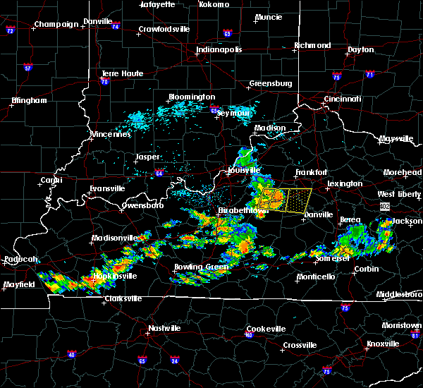 Radar Image for Severe Thunderstorms near Burgin, KY at 7/17/2020 1:06 PM EDT