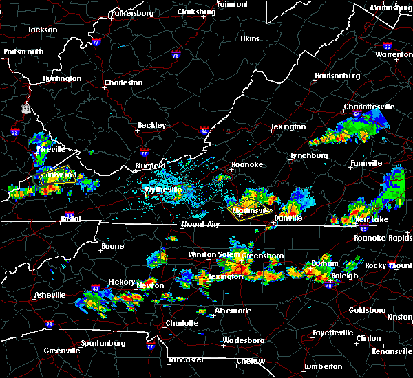 Radar Image for Severe Thunderstorms near Catawba, NC at 7/17/2020 4:51 PM EDT