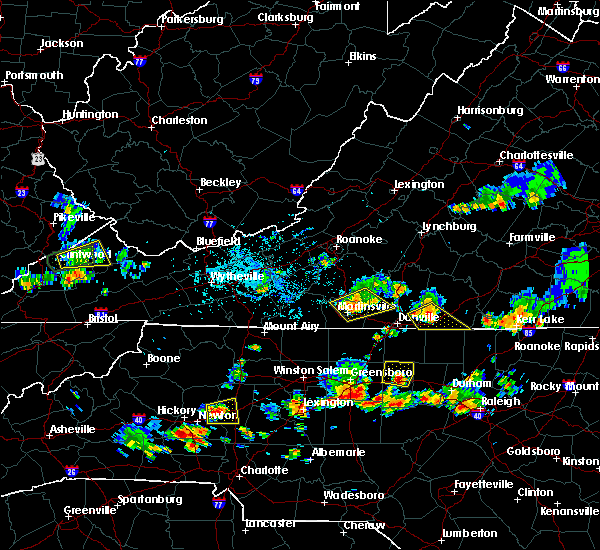 Radar Image for Severe Thunderstorms near Catawba, NC at 7/17/2020 5:04 PM EDT