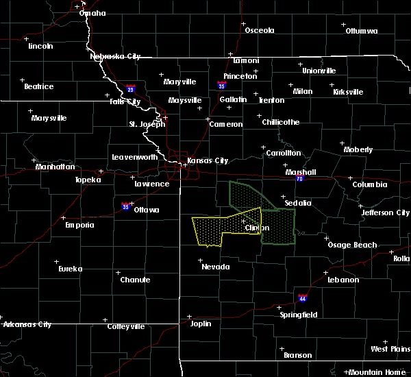 Radar Image for Severe Thunderstorms near Adrian, MO at 7/1/2015 2:52 AM CDT