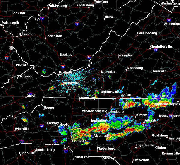 Radar Image for Severe Thunderstorms near Landis, NC at 7/17/2020 6:47 PM EDT