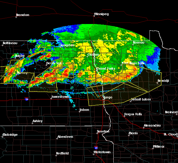 Radar Image for Severe Thunderstorms near Twin Lakes, MN at 7/17/2020 6:20 PM CDT