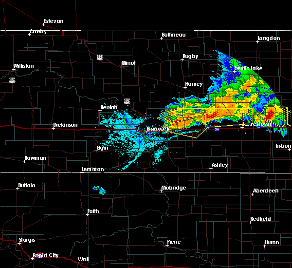 Radar Image for Severe Thunderstorms near Spiritwood Lake, ND at 7/17/2020 8:00 PM CDT