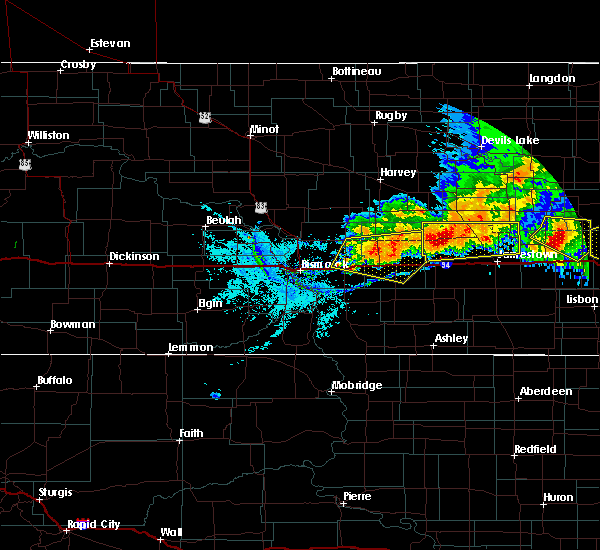 Radar Image for Severe Thunderstorms near Spiritwood Lake, ND at 7/17/2020 8:05 PM CDT