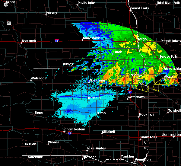 Radar Image for Severe Thunderstorms near Barry, MN at 7/17/2020 11:55 PM CDT