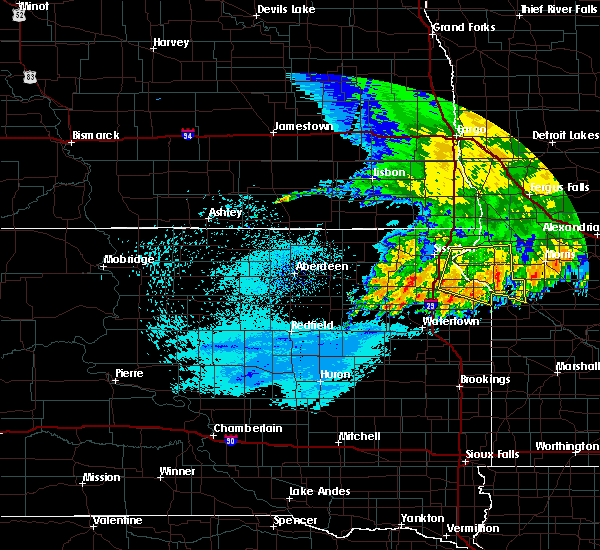 Radar Image for Severe Thunderstorms near Barry, MN at 7/18/2020 12:29 AM CDT