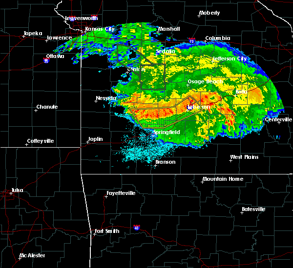 Radar Image for Severe Thunderstorms near Bolivar, MO at 7/1/2015 4:22 AM CDT