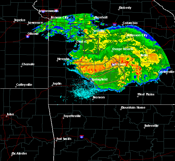 Radar Image for Severe Thunderstorms near Niangua, MO at 7/1/2015 4:31 AM CDT