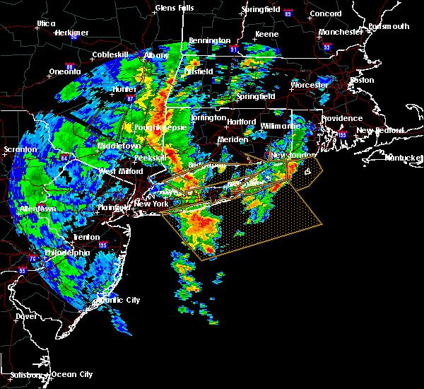 Radar Image for Severe Thunderstorms near Shoreham, NY at 7/1/2015 5:37 AM EDT