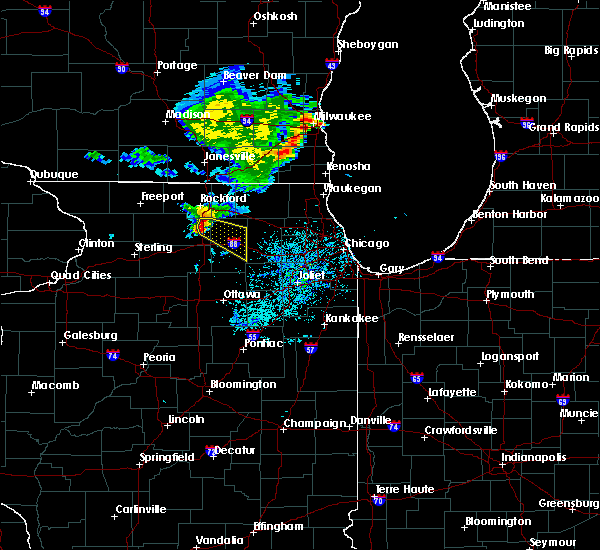 Radar Image for Severe Thunderstorms near Kingston, IL at 7/18/2020 12:47 PM CDT