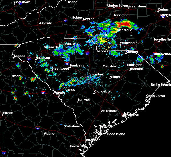 Radar Image for Severe Thunderstorms near Mineral Springs, NC at 7/18/2020 6:49 PM EDT