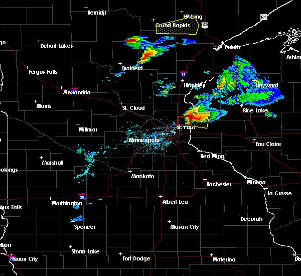 Radar Image for Severe Thunderstorms near Columbus, MN at 7/18/2020 6:44 PM CDT
