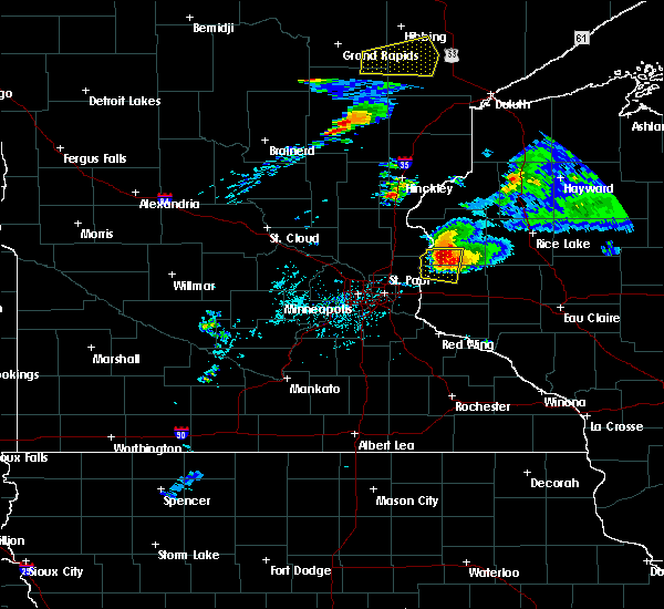 Radar Image for Severe Thunderstorms near Dresser, WI at 7/18/2020 7:04 PM CDT