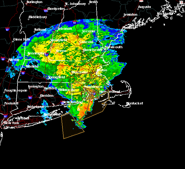 Radar Image for Severe Thunderstorms near Franklin Town, MA at 7/1/2015 7:54 AM EDT