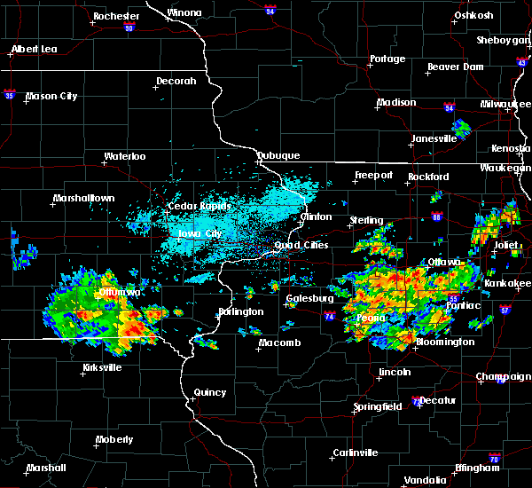 Radar Image for Severe Thunderstorms near Farmington, IA at 7/19/2020 7:39 AM CDT
