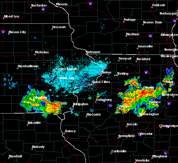 Radar Image for Severe Thunderstorms near Mount Pleasant, IA at 7/19/2020 8:06 AM CDT