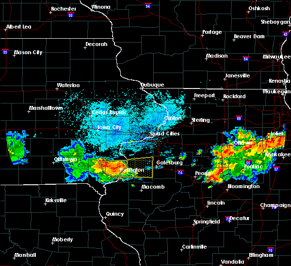 Radar Image for Severe Thunderstorms near New London, IA at 7/19/2020 8:34 AM CDT