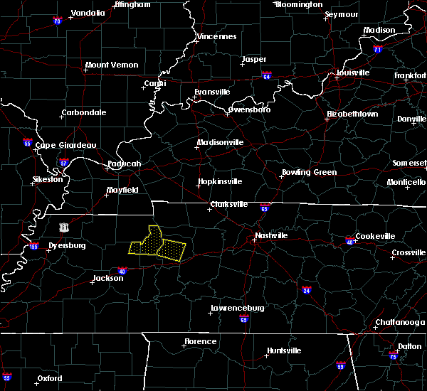Radar Image for Severe Thunderstorms near McEwen, TN at 7/1/2015 11:04 AM CDT