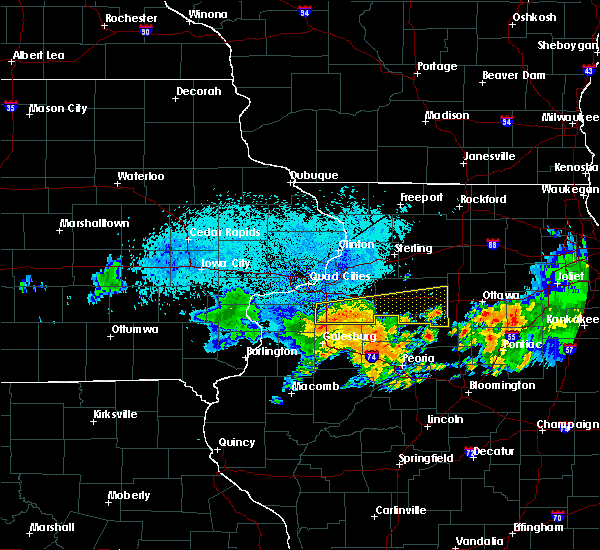 Radar Image for Severe Thunderstorms near Hopewell, IL at 7/19/2020 9:36 AM CDT