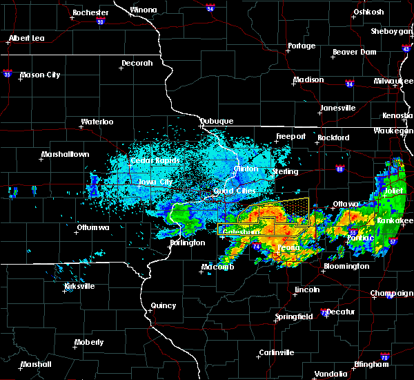 Radar Image for Severe Thunderstorms near Seatonville, IL at 7/19/2020 9:53 AM CDT