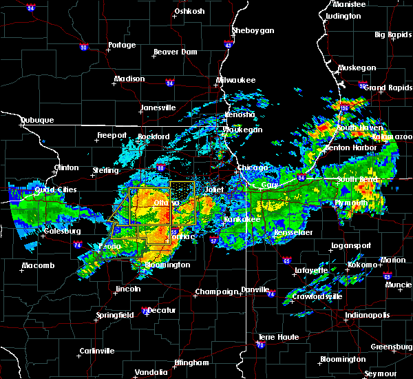 Radar Image for Severe Thunderstorms near Streator, IL at 7/19/2020 10:45 AM CDT
