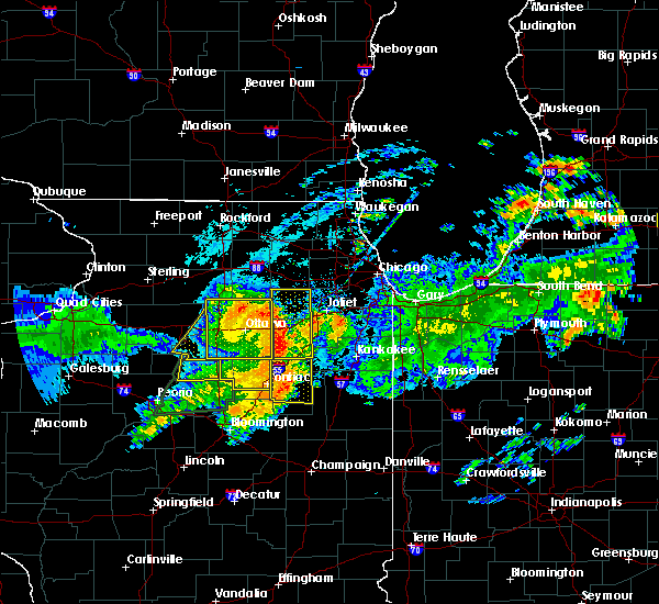 Radar Image for Severe Thunderstorms near Yorkville, IL at 7/19/2020 10:48 AM CDT