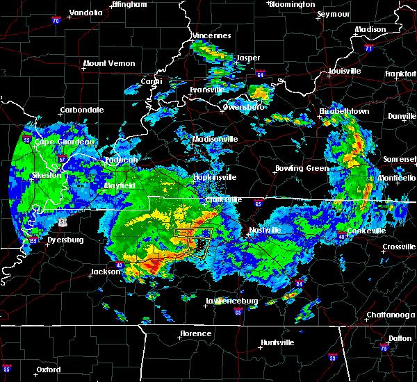 Radar Image for Severe Thunderstorms near Charlotte, TN at 7/1/2015 11:41 AM CDT