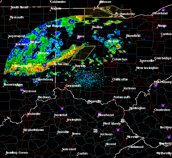 Radar Image for Severe Thunderstorms near Piqua, OH at 7/19/2020 4:05 PM EDT