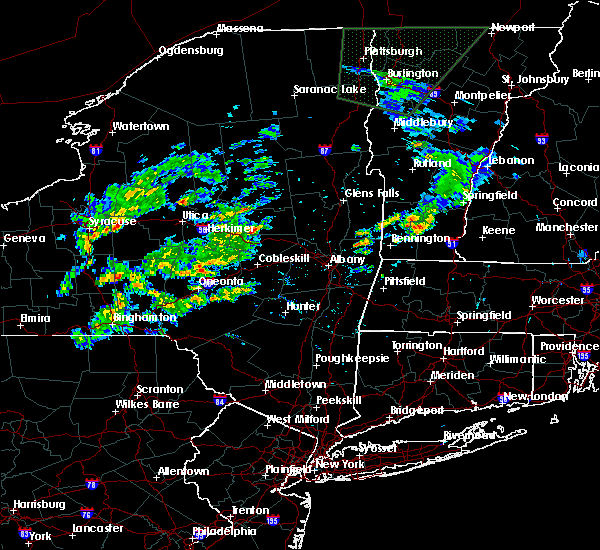 Radar Image for Severe Thunderstorms near Gloversville, NY at 7/1/2015 2:27 PM EDT
