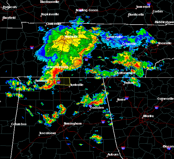 Radar Image for Severe Thunderstorms near Normandy, TN at 7/1/2015 1:54 PM CDT