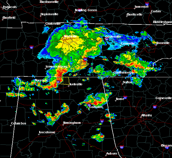 Radar Image for Severe Thunderstorms near Ardmore, TN at 7/1/2015 2:10 PM CDT