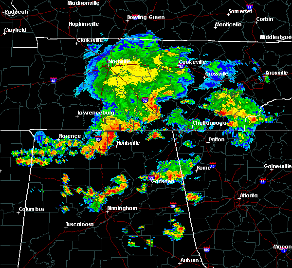 Radar Image for Severe Thunderstorms near Ardmore, TN at 7/1/2015 2:25 PM CDT