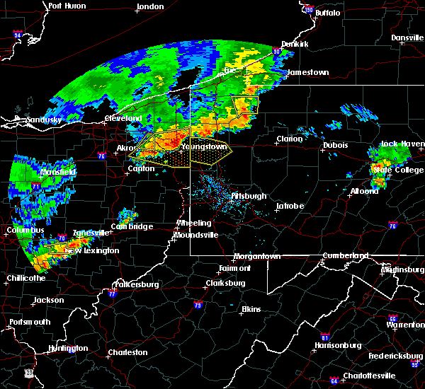 Radar Image for Severe Thunderstorms near Warren, OH at 7/19/2020 6:49 PM EDT